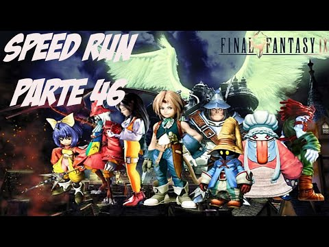 Final Fantasy IX Speed Run Excalibur II Detonado Parte 46