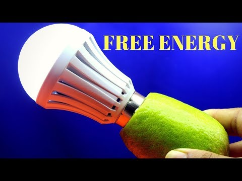 100% Free Energy,Free Energy Light Bulbs 220v Using Lemon - Light Bulbs Lemon Experiment thumbnail