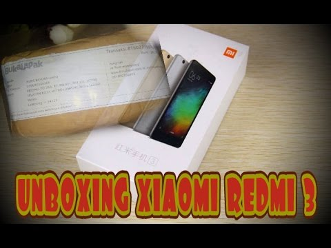 UNBOXING - Xiaomi redmi 3 Hi-Tech Mobile Shop (Buka lapak)
