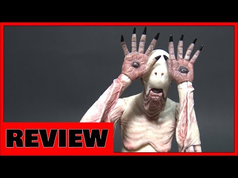 Neca Guillermo Del Toro Pans Labyrinth Pale Man Figure Review
