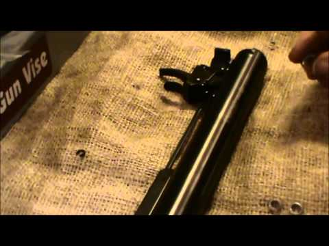 Review. Crosman Optimus 1200fps  .177 Cal Air Rifle and Trigger Fix