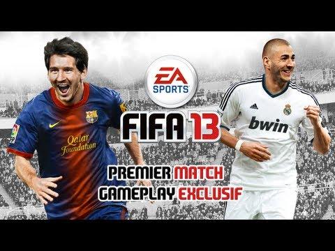 FIFA 13 - Premier match commenté - Gameplay exclusif