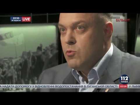 """Олег Тягнибок в етері каналу """"112 Україна"""""""