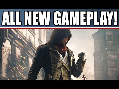 Assassin's Creed Unity New Gameplay Walkthrough of Singleplayer, Coop & Murder Mysteries
