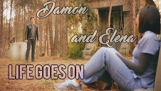 "Damon/Elena - ""And Life Goes On"" (S01-S08)"