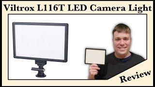 Best Cheap Light? - VILTROX L116T LED Camera / Video Light - MumblesVideos Product Review -