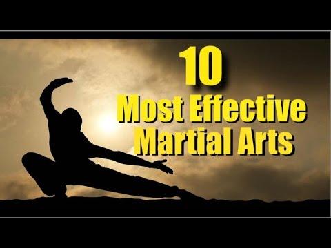 Top Ten Most Effective Martial Arts