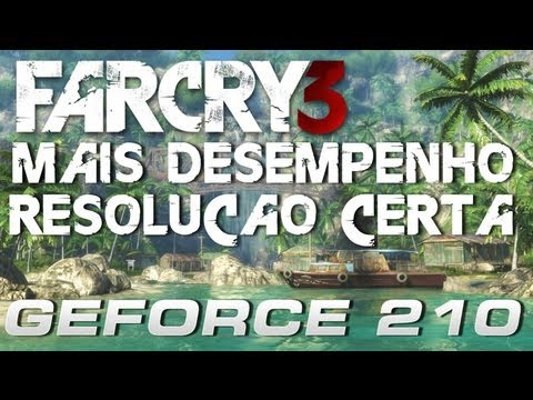 Far Cry 3 na GeForce 210