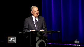 "Bloomberg Apologizes for ""Stop-And-Frisk"" 