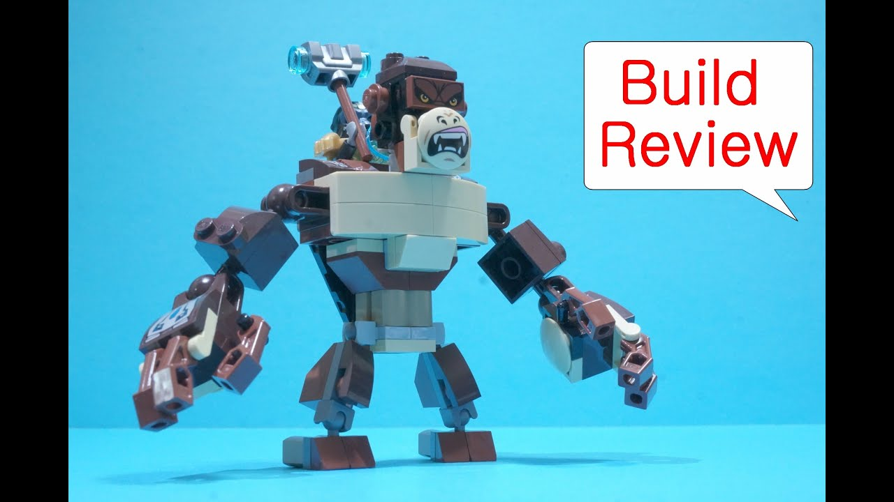 레고 키마 Lego 70125 Gorilla Legend Beast - Build Review - YouTube