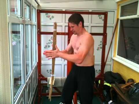 Two Shaolin grip training methods. Iron body martial arts. Image 1