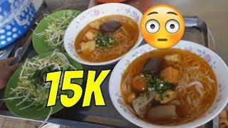 SĂN TÌM [TÔ BÚN RIÊU 15K] ÔTÔ DÀN HÀNG ĐỂ ĂN |Guide Saigon Food