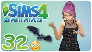 DIE SIMS 4: SCHWARZE WITWE 2.0 #32 UNSER KIND IST EIN VAMPIR! :O ☆ Let's Play