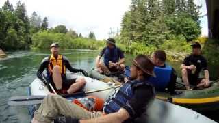 North Santiam WhiteWater Challenge - May 26th, 2013