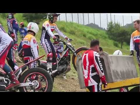 Toni Bou | Trial World Japan 2012 | Practice