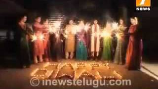 DIWALI SPECIAL PROMO WITH INEWS NEWS ANCHORS ROJA