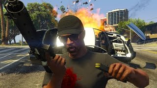 GTA 5 Online - 1 HOUR OF ABSOLUTE CHAOS! (GTA V Online)