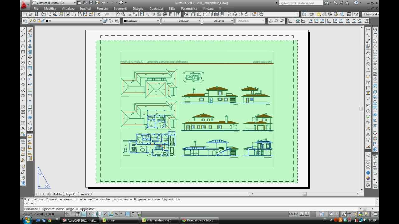 how to add scale to layout autocad
