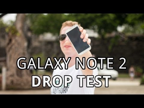 Samsung Galaxy Note 2 - Drop Test