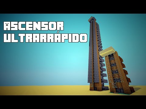 Minecraft - Ascensor Ultrarrápido - Tutorial