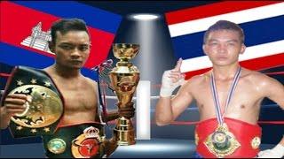 Phal Sophorn vs Khao Phong(thai), Khmer Boxing Bayon 21 May 2017, Kun Khmer vs Muay Thai