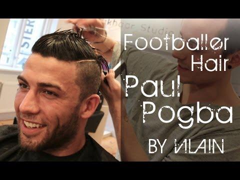 Faux hawk like Paul Pogba and Cristiano Ronaldo - By VIlain Gold Digger