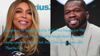 Wendy compliments 50 Cent, but you'll never guess his response