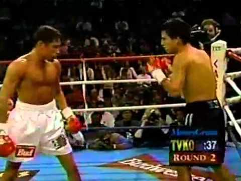Oscar De La Hoya vs Miguel Angel Gonzalez - 1/4