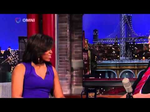 Michelle Obama on David Letterman April 30th 2015 Full Interview