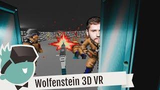 Wolfenstein 3D VR mit der Oculus Rift