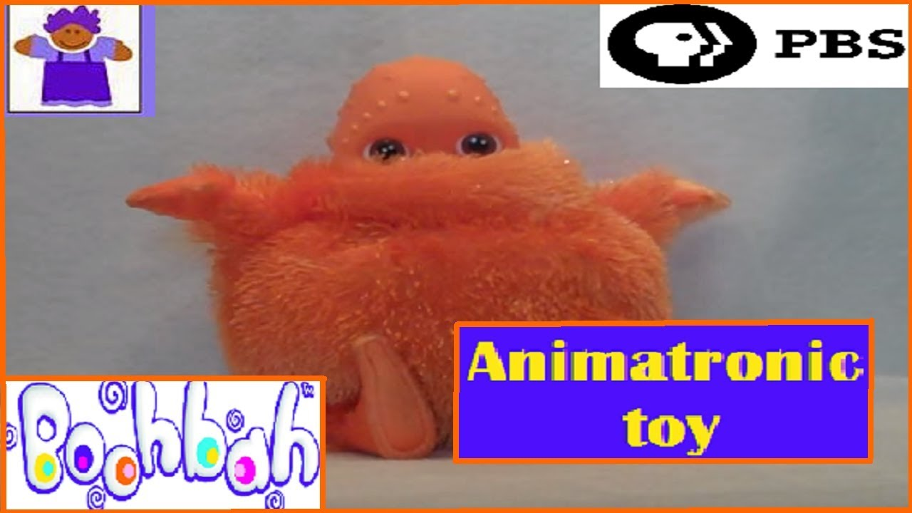 2004 pbs boohbah silly sounds zing zing zingbah plush by