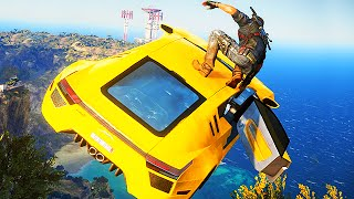 EPIC JUST CAUSE 3 STUNT MONTAGE!