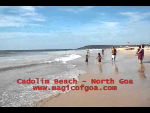 Goa Tour Video: Calangute Beach Video: Candolim Beach Video