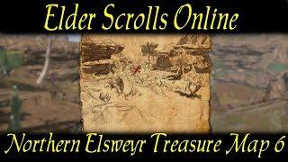 Treasure map VI on