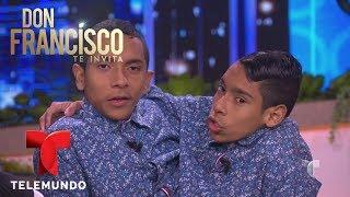Los siameses José Armando y José Luis Ceballos hablan de su vida | Don Francisco Te Invita | Entrete