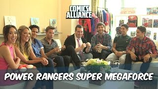 Interview The Cast Of Power Rangers Super Megaforce At San Diego Comic Con 2014