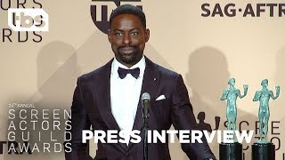 Sterling K. Brown: Press Interview | 24th Annual SAG Awards | TBS