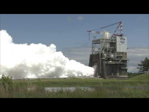 NASA's Space Launch System Engine Testing Heats Up