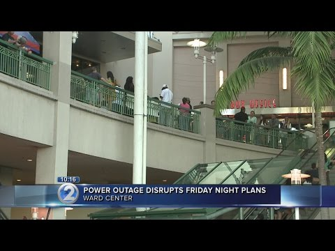 Power outage puts Friday night entertainment on hold...