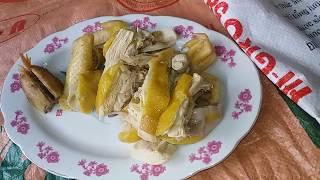 Ăn Cháo gà thả vườn ngon nhất - Vietnamese Special Steamed Chicken with Rice Soup