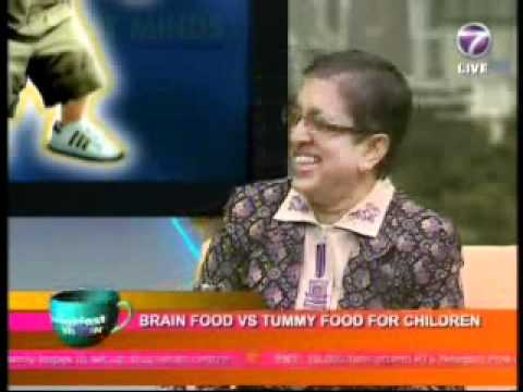 NTV7 - The Breakfast Show - Brain Food vs Tummy Food For Children