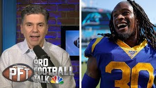 Sean McVay denies saving Todd Gurley for end of season | Pro Football Talk | NBC Sports