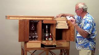 Secret Compartment Cabinet