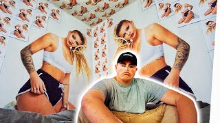KATJA KRASAVICE in XXXL!! 👅 (Room Prank!)