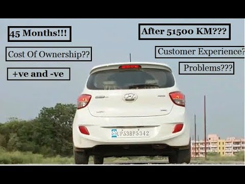 HYUNDAI GRAND I10/AFTER 51500 KM/USER REVIEW,COST OF OWNERSHIP