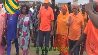 TOGO/Tournée de la C14 à Sokodé: Les leaders  accueillis en grande pompe