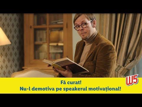 Speakerul motivational - W5 • E usor sa faci curatenie, cel mai greu e sa te apuci!