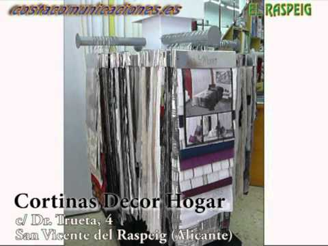 Cortinas Decor Hogar - San Vicente del Raspeig