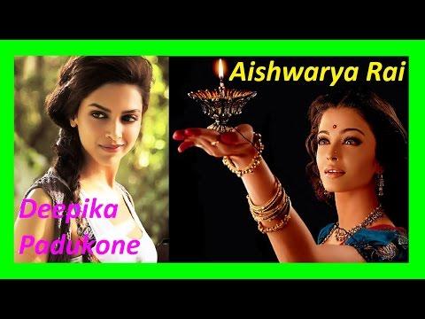 """Silsila Ye Chaahat Ka""  Shreya Ghosal, Aishwarya Rai, Deepika Padukone"
