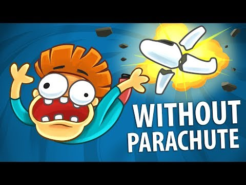 Cover Lagu What if you Jump From 30,000 ft Without Parachute?